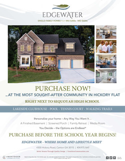 Edgewater Sales Flyer