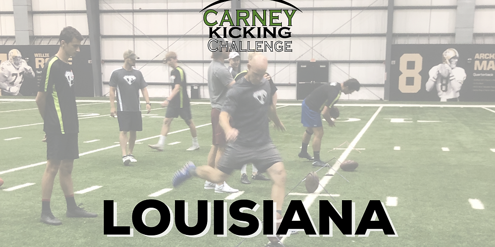 Carney Kicking Challenge Louisiana