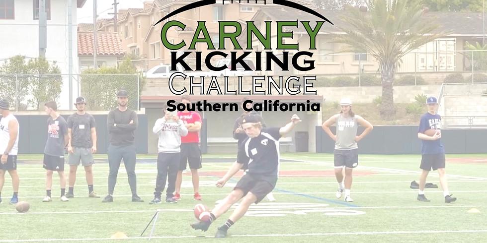 Carney Kicking Challenge Southern California