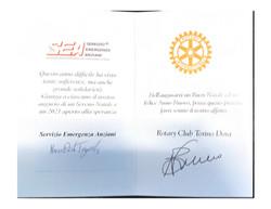 Buon Natale dal SEA e Rotary