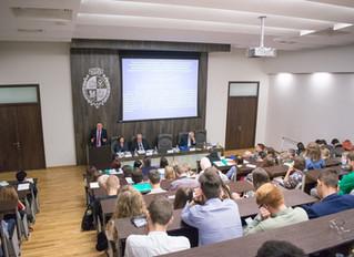 Экологи России выступили на V Международной научно-практической конференции в ВолГУ и посетили озеро