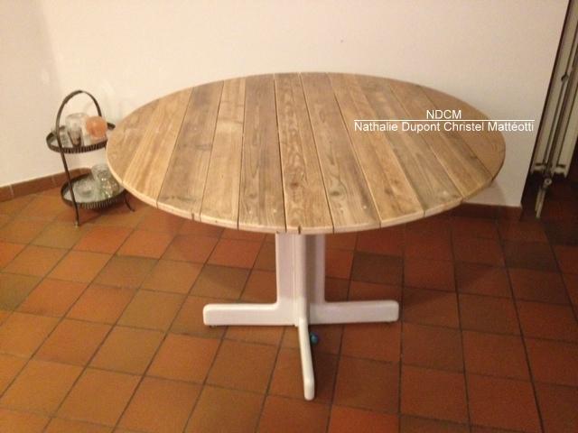 Plateau pour table ronde