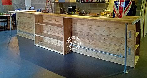 Ndcm mobilier am nagement magasin bois de palette belgique for Comptoir du meuble bruxelles