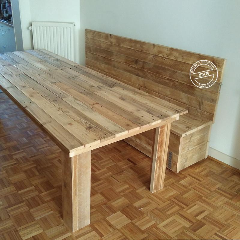 Table et banquette / coffre