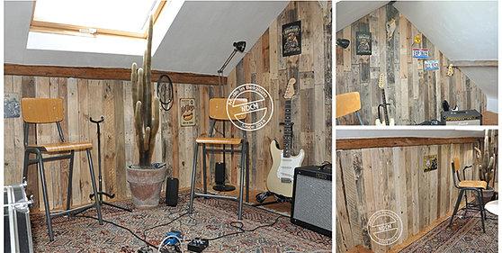 bar palette bois best tabourets de bar indus en acier et bois de palettes with bar palette bois. Black Bedroom Furniture Sets. Home Design Ideas