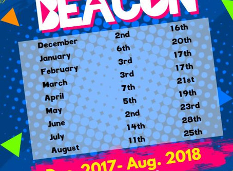 Dates Released for Project Beacon Repsite