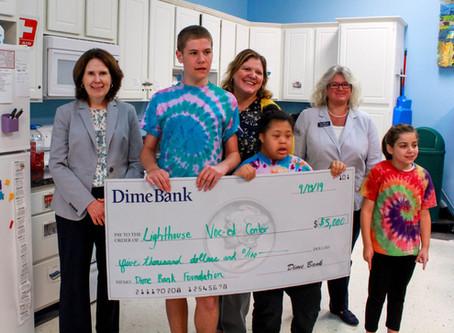 Dime Bank awards $5,000 for Life Skills Kitchen Renovation