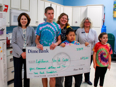 Dime Bank awards $5,000 for Life Skills Kitchen Renovation