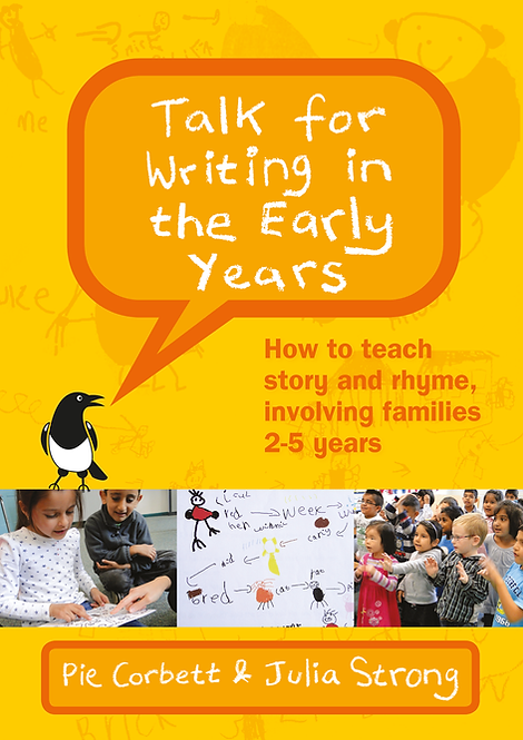 Talk for Writing in the Early Years, with 33 online video clips