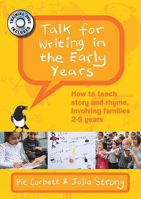 Talk for Writing in the Early Years, with 2 DVDs