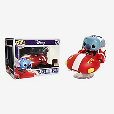 Funko Pop! Rides Disney Lilo & Stitch The Red One Vinyl Figure