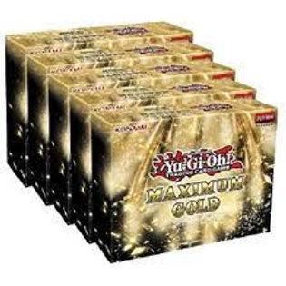Yu-Gi-Oh Maximum Gold Display Box (5 Mini Boxes) Sealed