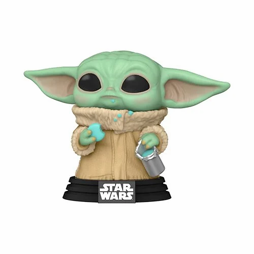 Star Wars: The Mandalorian The Child with Cookie Pop! Vinyl Figure Preorder