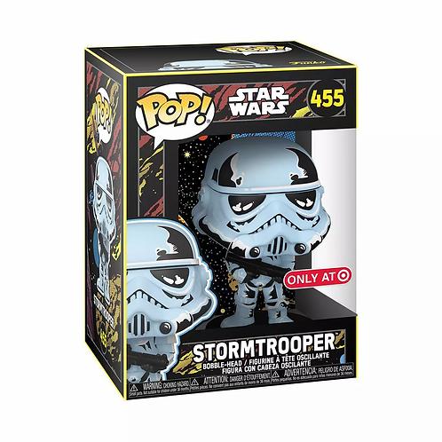 Funko POP! Star Wars: Retro Series - Stormtrooper Target Exclusive Preorder