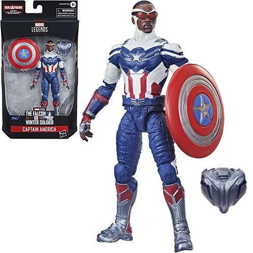 Avengers 2021 Marvel Legends 6-Inch Captain America: Sam Wilson Figure Preorder