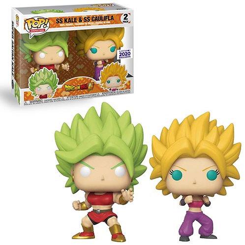 Funko Pop! Dragon Ball Super Super Saiyan Kale and Super Saiyan Caulifla 2-Pack