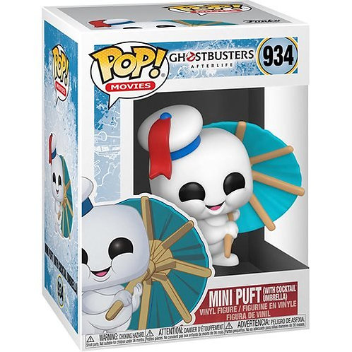 Ghostbusters 3: Afterlife Mini Puft with Cocktail Umbrella Pop! Preorder