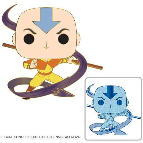 Avatar: The Last Airbender Aang Large Enamel Pop! Pin