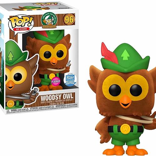 Funko POP! Ad Icons Woodsy Owl  #96 Flocked