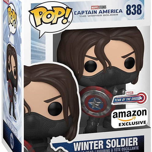 Funko Pop! Marvel Year of The Shield The Winter Soldier Amazon Exclusive