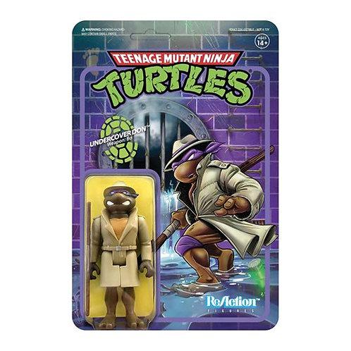 TMNT Undercover Donatello 3 3/4-Inch ReAction Figure Preorder
