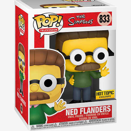 FUNKO THE SIMPSONS POP! TELEVISION NED FLANDERS