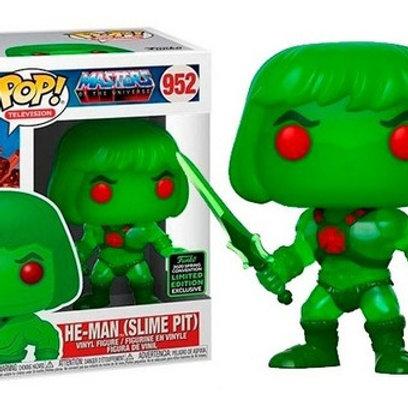 Funko Pop! Television MOTU He-man Slime Pit # 952