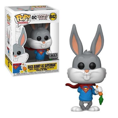Funko Pop! DC Looney Tunes: Bugs Bunny as Superman FYE Exclusive