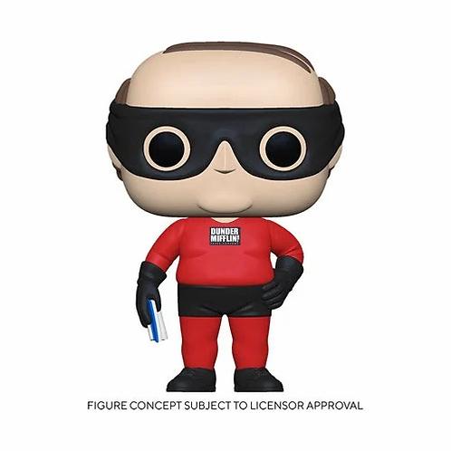 The Office Kevin as Dunder Mifflin Superhero Pop! Vinyl Figure Preorder