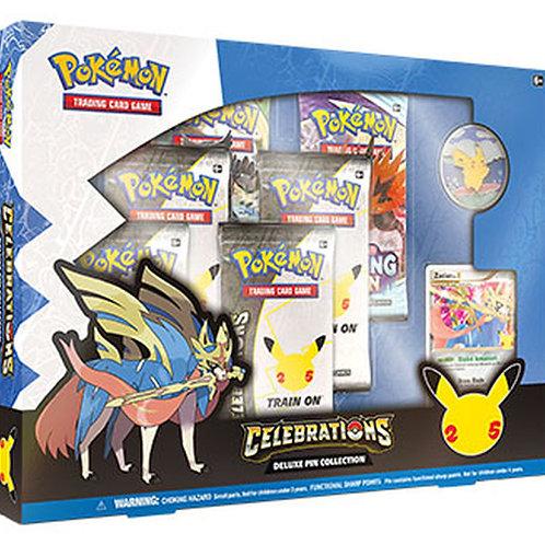 Pokemon Celebrations Deluxe Pin Collection (Zacian)