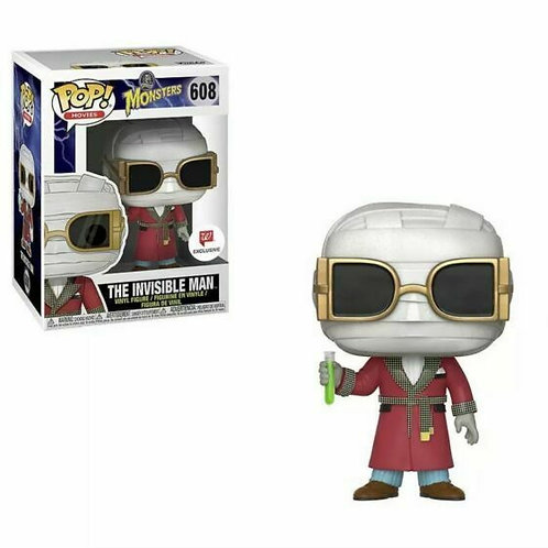 Funko Pop Monsters The Invisible Man #608 Walgreens Box Damage