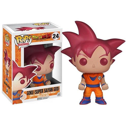 Goku (Super Saiyan God) #24 Moderate Box Damage