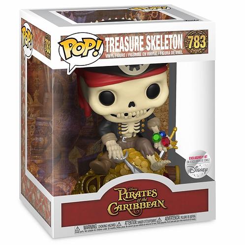 Treasure Skeleton Funko Pop! Pirates of the Caribbean Disney Shop Exclusive