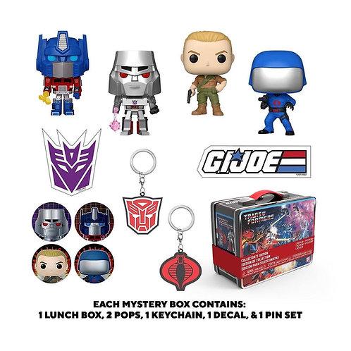 Funko Box: Transformers VS. G.I. Joe GameStop Exclusive