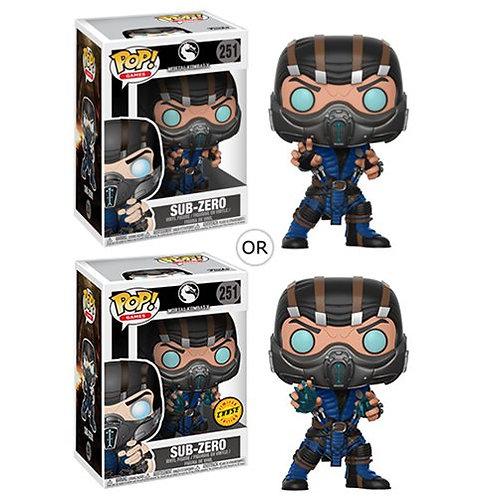 Mortal Kombat Sub-Zero Pop! Common + Chase Bundle Preorder