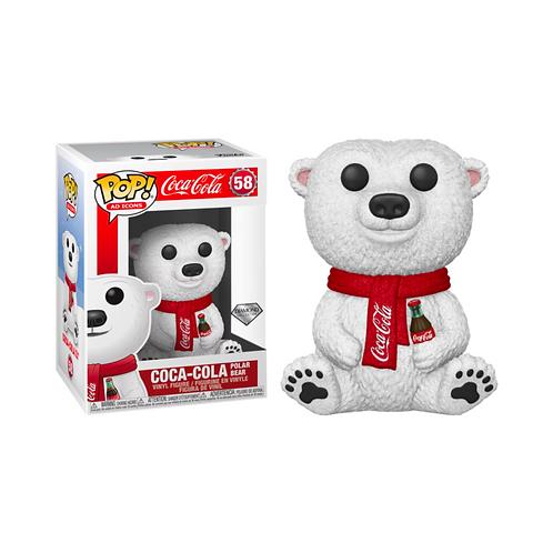 Coca-Cola Funko Pop! Polar Bear Diamond  Collection #58 Special Edition