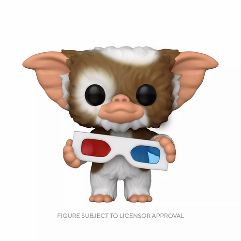 Funko POP! Movies Gremlins Gizmo with 3D Glasses Flocked Target Excl Preorder