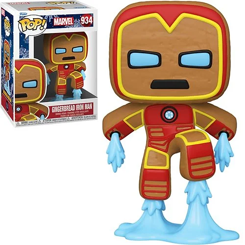 Marvel Holiday Gingerbread Iron Man Pop! Vinyl Figure Preorder