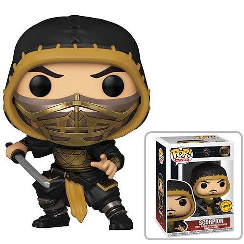 Mortal Kombat 2021 Scorpion Pop! Common + Chase Bundle