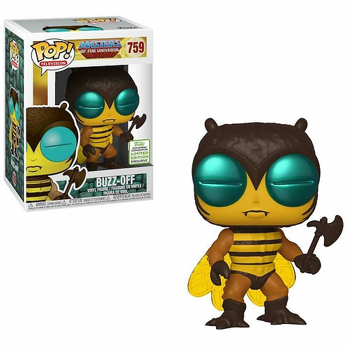 Funko Pop! Masters of The Universe Buzz-Off SDCC 2019 Shared Sticker