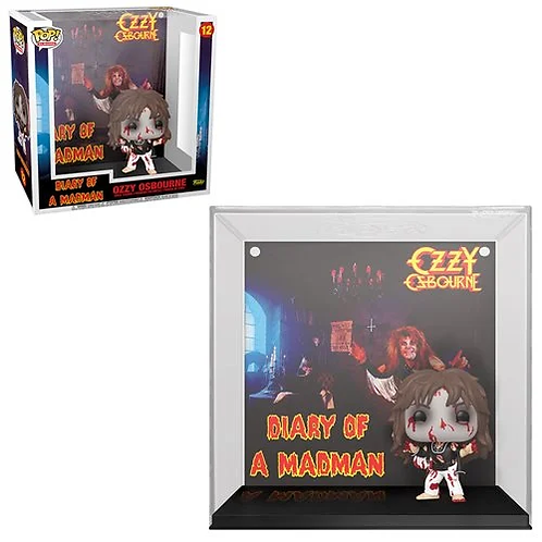 Ozzy Osbourne Diary of a Madman Pop! Album Figure with Case Preorder
