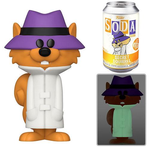 Hanna Barbera Secret Squirrel Vinyl Soda Figure Sealed