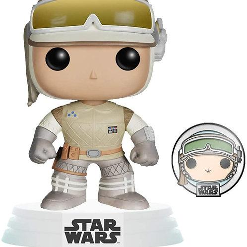 Funko Pop! Star Wars: Hoth Luke Skywalker with Pin Amazon Exclusive