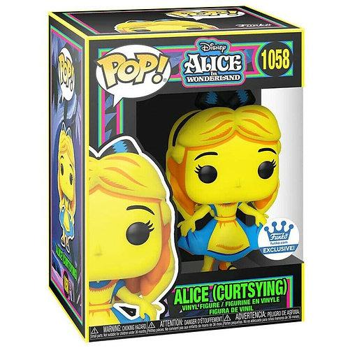 Funko Pop! Alice in Wonderland Curtsying Black Light