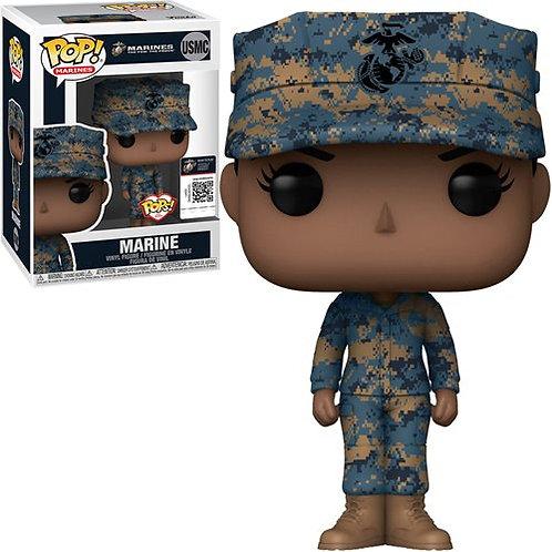 Military Marine Female (African American) Pop! Vinyl Figure Preorder