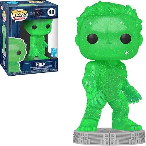 Avengers Infinity Saga Hulk Green Artist Series Pop! Preorder
