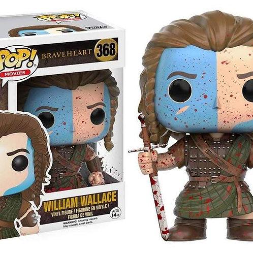 Funko Pop! Braveheart William Wallace #368 Blood Splattered Exclusive ( Box Cut)