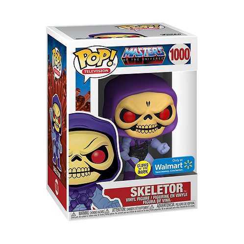 Funko POP!  Masters of the Universe Skeletor GITD Large - Walmart ExClusive