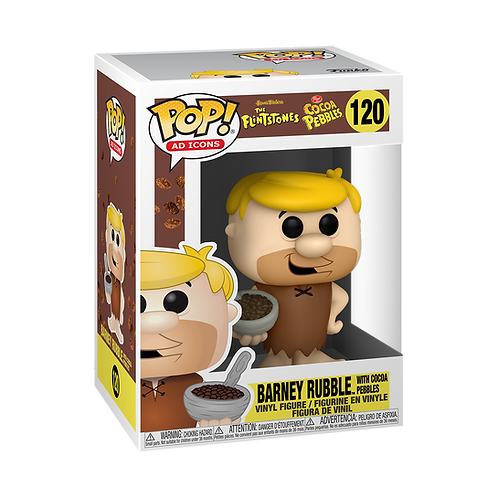 Funko POP! Ad Icons: Cocoa Pebbles Barney with Cereal Preorder