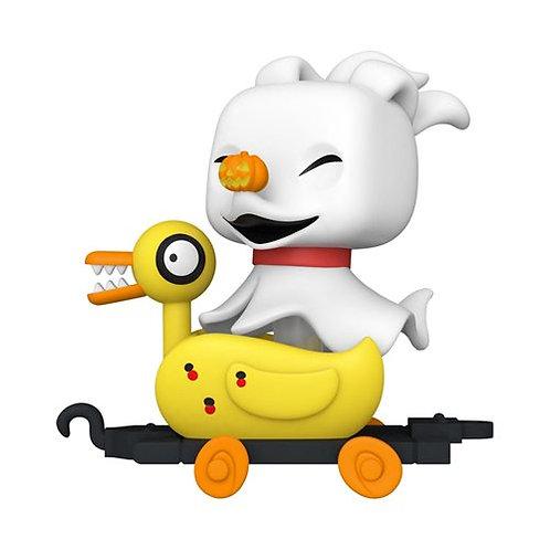 Nightmare Before Christmas Zero in Duck Cart Pop! Train Preorder